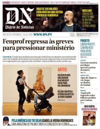 capa Diário de Notícias de 2 fevereiro 2018