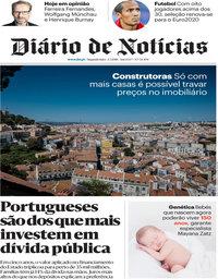 capa Diário de Notícias de 2 julho 2018