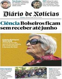 capa Diário de Notícias de 2 agosto 2018
