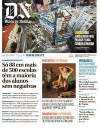 capa Diário de Notícias de 3 fevereiro 2018