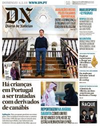 capa Diário de Notícias de 4 março 2018