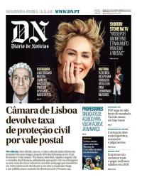 capa Diário de Notícias de 5 fevereiro 2018