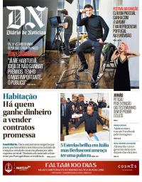 capa Diário de Notícias de 5 março 2018