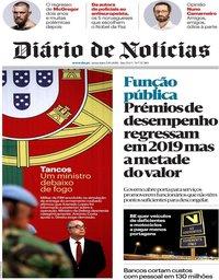 capa Diário de Notícias de 5 outubro 2018