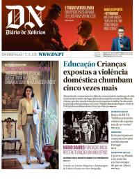 capa Diário de Notícias de 7 janeiro 2018