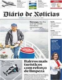 capa Diário de Notícias de 8 julho 2018