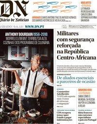 capa Diário de Notícias de 9 junho 2018