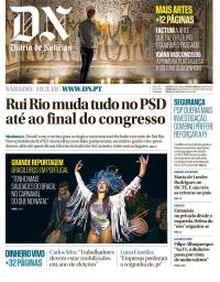 capa Diário de Notícias de 10 fevereiro 2018