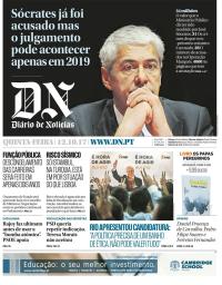 capa Diário de Notícias de 12 outubro 2017