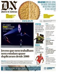 capa Diário de Notícias de 13 setembro 2017