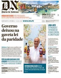 capa Diário de Notícias de 14 fevereiro 2018