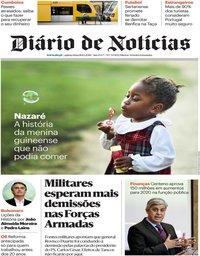 capa Diário de Notícias de 18 outubro 2018