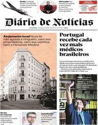 capa Diário de Notícias de 22 julho 2018