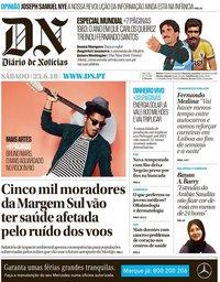 capa Diário de Notícias de 23 junho 2018