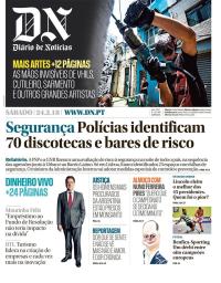 capa Diário de Notícias de 24 fevereiro 2018
