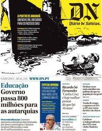 capa Diário de Notícias de 30 junho 2018