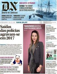capa Diário de Notícias de 31 março 2018