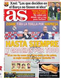 capa Jornal As de 1 junho 2018