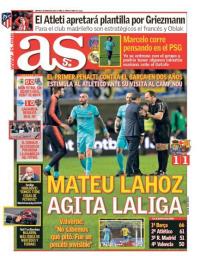 capa Jornal As de 2 março 2018