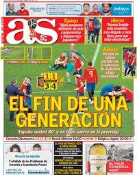 capa Jornal As de 2 julho 2018