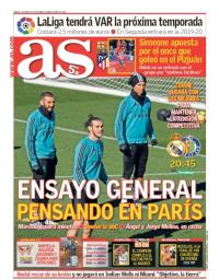capa Jornal As de 3 março 2018