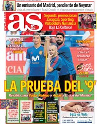capa Jornal As de 3 junho 2018