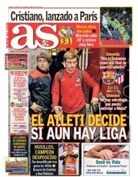 capa Jornal As de 4 março 2018