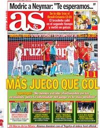 capa Jornal As de 4 junho 2018