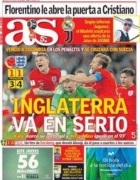 capa Jornal As de 4 julho 2018