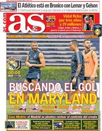 capa Jornal As de 4 agosto 2018