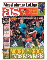 capa Jornal As de 5 março 2018