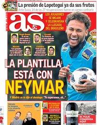 capa Jornal As de 5 junho 2018