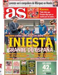 capa Jornal As de 6 junho 2018