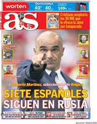 capa Jornal As de 6 julho 2018