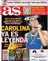 capa Jornal As de 6 agosto 2018