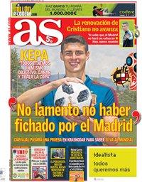 capa Jornal As de 7 junho 2018