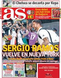 capa Jornal As de 7 agosto 2018