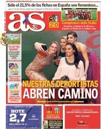 capa Jornal As de 8 março 2018