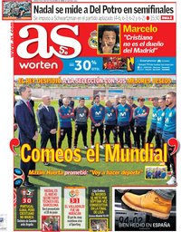 capa Jornal As de 8 junho 2018