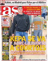 capa Jornal As de 8 agosto 2018