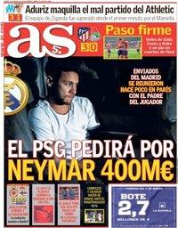 capa Jornal As de 9 março 2018
