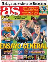 capa Jornal As de 9 junho 2018