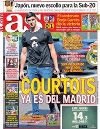 capa Jornal As de 9 agosto 2018