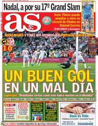 capa Jornal As de 10 junho 2018