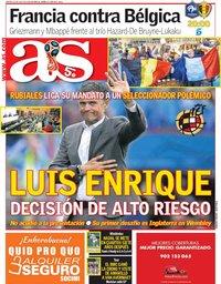 capa Jornal As de 10 julho 2018