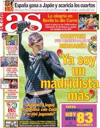 capa Jornal As de 10 agosto 2018