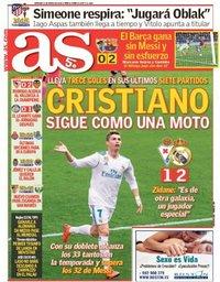 capa Jornal As de 11 março 2018