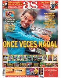 capa Jornal As de 11 junho 2018