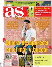 capa Jornal As de 12 junho 2018