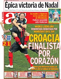 capa Jornal As de 12 julho 2018